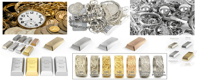 Sell Gold, Scrap Gold & Jewellery, Platinum, Silver & Watches